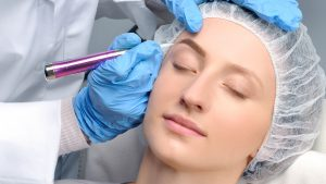 permanent makeup microblading ögonbryn